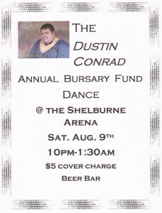 Dustin Conrad Bursary Dance